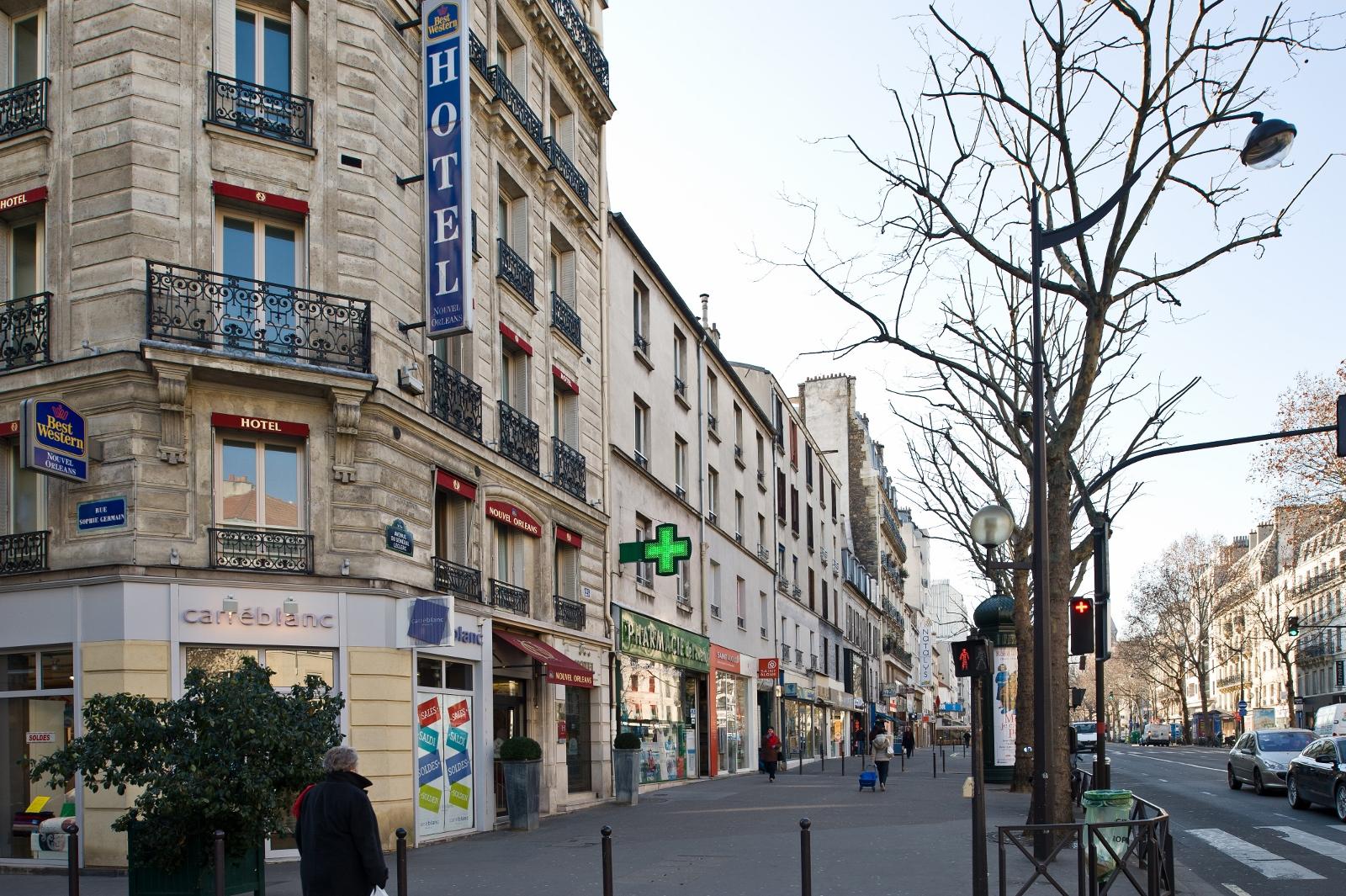 Hotel montparnasse paris 14 best western 4 toiles for Ideal hotel montparnasse