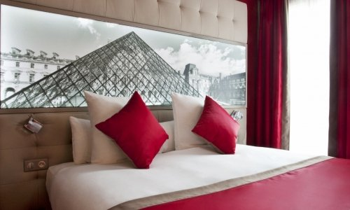 Double Rooms of the Hotel Bestwestern Nouvel Orleans